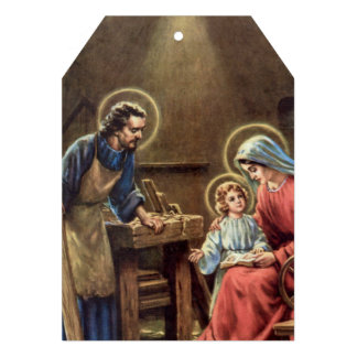 vintage the holy family, Jesus christ, Josef,Mary, Card