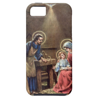 vintage the holy family, Jesus christ, Josef,Mary iPhone 5 Cases