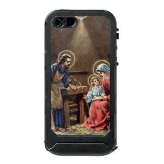 vintage the holy family, Jesus christ, Josef,Mary, Incipio ATLAS ID™ iPhone 5 Case