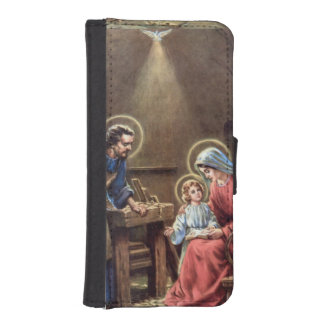 vintage the holy family, Jesus christ, Josef,Mary, Phone Wallet Cases