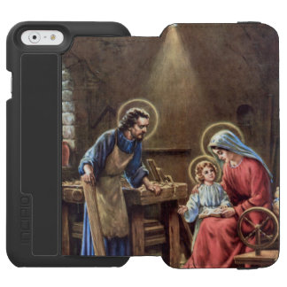 vintage the holy family, Jesus christ, Josef,Mary, Incipio Watson™ iPhone 6 Wallet Case