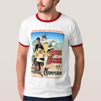 Vintage The lover of Ballerinas book ad T-Shirt