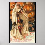 Vintage The Magic Halloween Poster