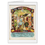 Vintage - The Masquerade Sheet Music, Card