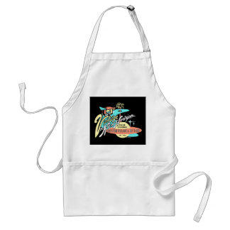 """Vintage: The New Horizon"" Adult Apron"