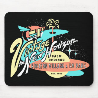 """Vintage: The New Horizon"" Mouse Pad"