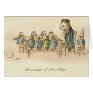 Vintage - The Pursuit of Knowledge Card