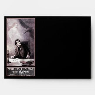 Vintage The Raven Theatrical Envelope
