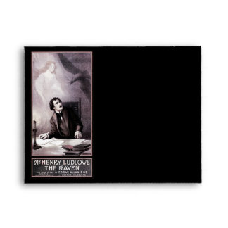 Vintage The Raven Theatrical Envelope