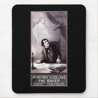 Vintage The Raven Theatrical Mouse Pad