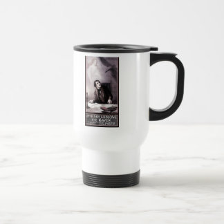 Vintage The Raven Theatrical 15 Oz Stainless Steel Travel Mug