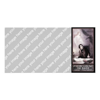 Vintage The Raven Theatrical Photo Card
