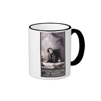 Vintage The Raven Theatrical Ringer Coffee Mug