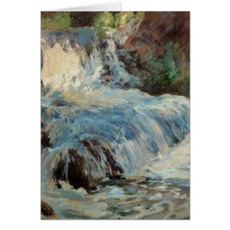 Vintage The Waterfall Card