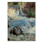Vintage The Waterfall Note Card