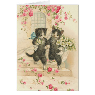 Vintage The Wedding 2 Card