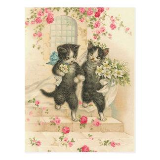 Vintage The Wedding 2 Postcard
