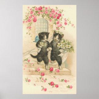 Vintage The Wedding 2 Poster