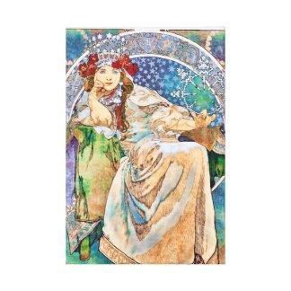 Vintage Theater Advertisement Princess Hyacinth Canvas Print