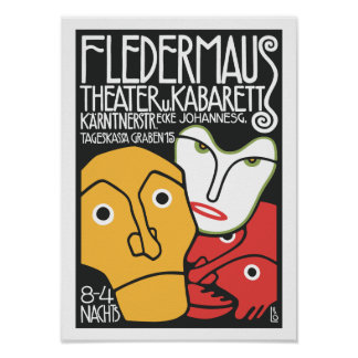 Vintage Theater Cabaret Posters
