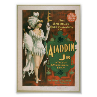 Vintage Theatre Poster