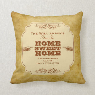 Vintage Theatre Production Family Pillow