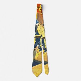 Vintage Theatrical Poster 1899 Neck Tie