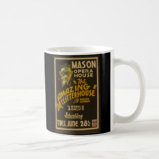 Vintage Theatrical Poster Mug Mason Theater