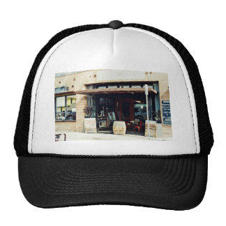 Vintage Themed, Classic Vintage Concept Of Cafe Sh Trucker Hat