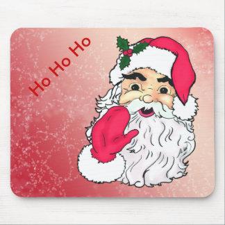Vintage themed Santa Claus Mouse Pad