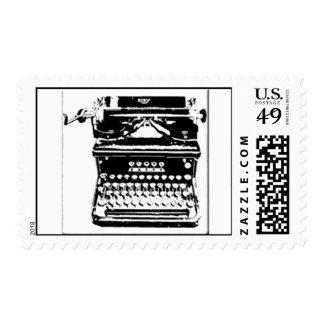 Vintage Themed Wedding stamps 1