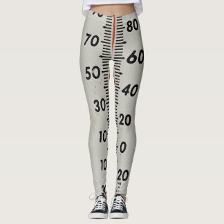 vintage thermometer leggings