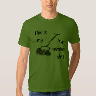 Vintage This is my Lawn Mowing shirt t-shirt