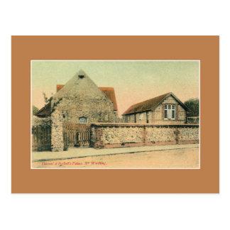 Vintage Thomas Beckett palace near Worthing Postcard