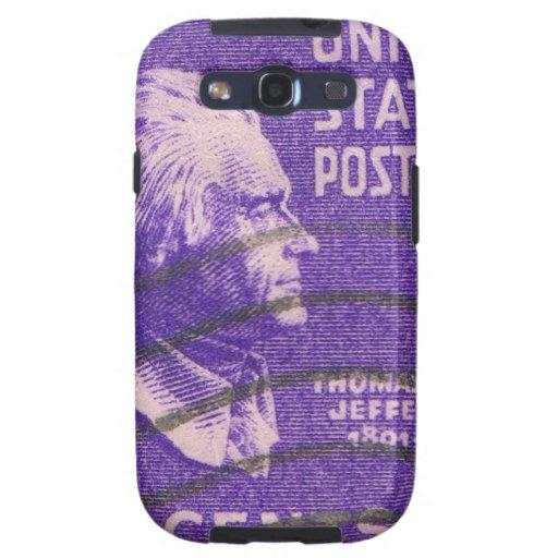 Vintage Thomas Jefferson Carcasa Para Samsung Galaxy SIII