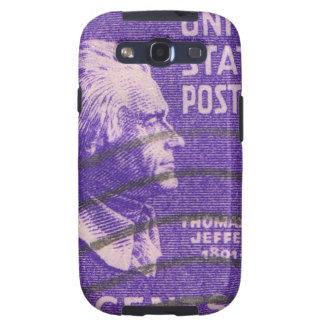 Vintage Thomas Jefferson Samsung Galaxy SIII Funda