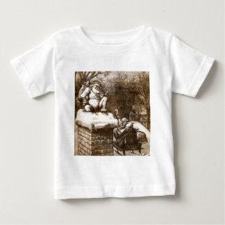 Vintage Thomas Nash Harper's Weekly 1865 Santa Baby T-Shirt