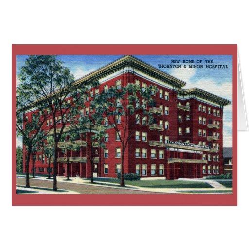 Vintage Thornton y hospital de menor importancia, Tarjeta Pequeña