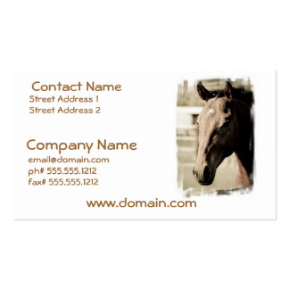 Vintage Thoroughbred Business Cards