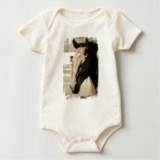 Vintage Thoroughbred Infant Creeper