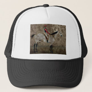 Vintage Thoroughbred Race Horse Trucker Hat