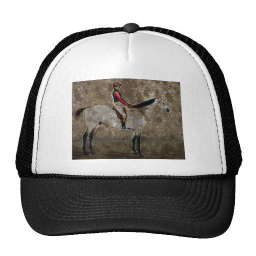 Vintage Thoroughbred Race Horse Trucker Hat