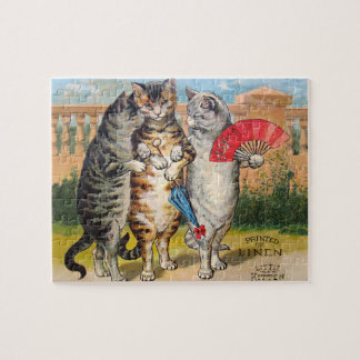 Vintage Three Little Kittens Lost Mittens Jigsaw Puzzles
