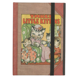 Vintage Three Little Kittens Old Book Cover Style