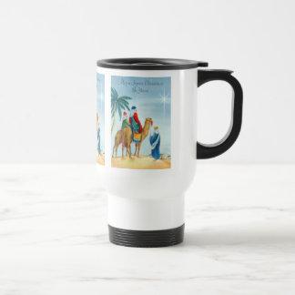 Vintage Three Wise Men Travel Mug