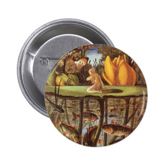 Vintage Thumbelina Fairy Tale, Eleanor Vere Boyle Pinback Buttons