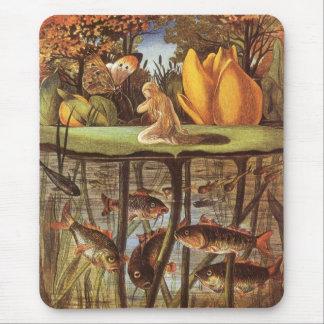 Vintage Thumbelina Fairy Tale, Eleanor Vere Boyle Mouse Pad