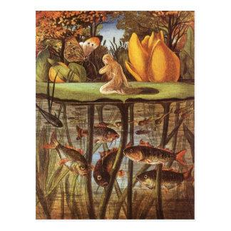 Vintage Thumbelina Fairy Tale, Eleanor Vere Boyle Postcard