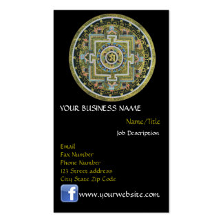Vintage Tibetan Tantric Buddhism Mandala Double-Sided Standard Business Cards (Pack Of 100)