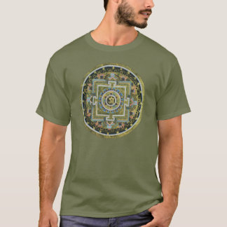 Vintage Tibetan Tantric Buddhism Mandala Thangka T-Shirt